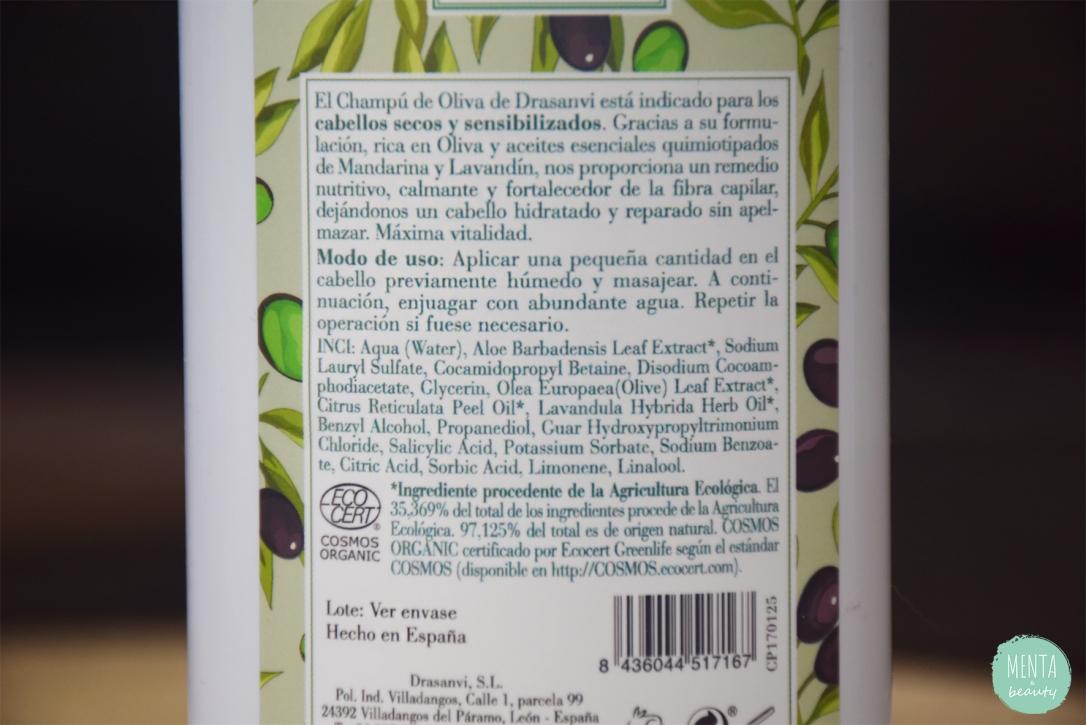 Champú de Oliva BIO - Drasanvi