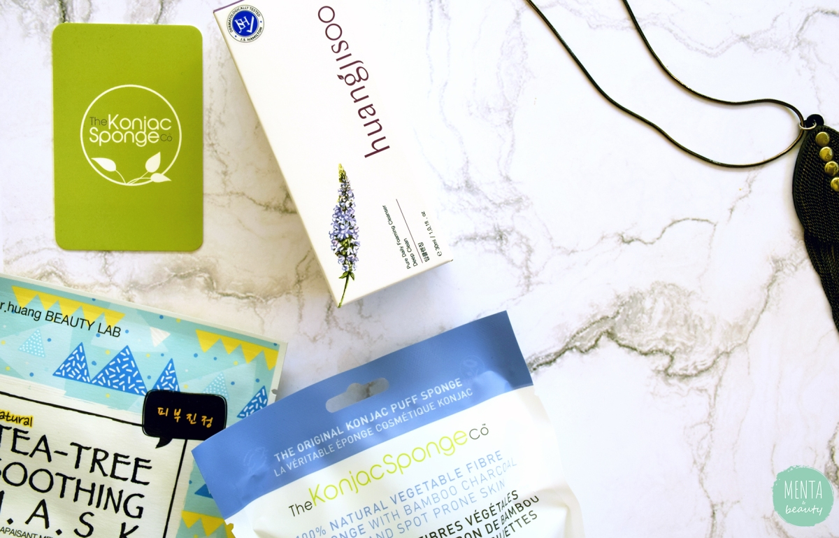Probando cosmética coreana y natural - Huangjisoo & The Konjac Sponge Company| La mejor combinación