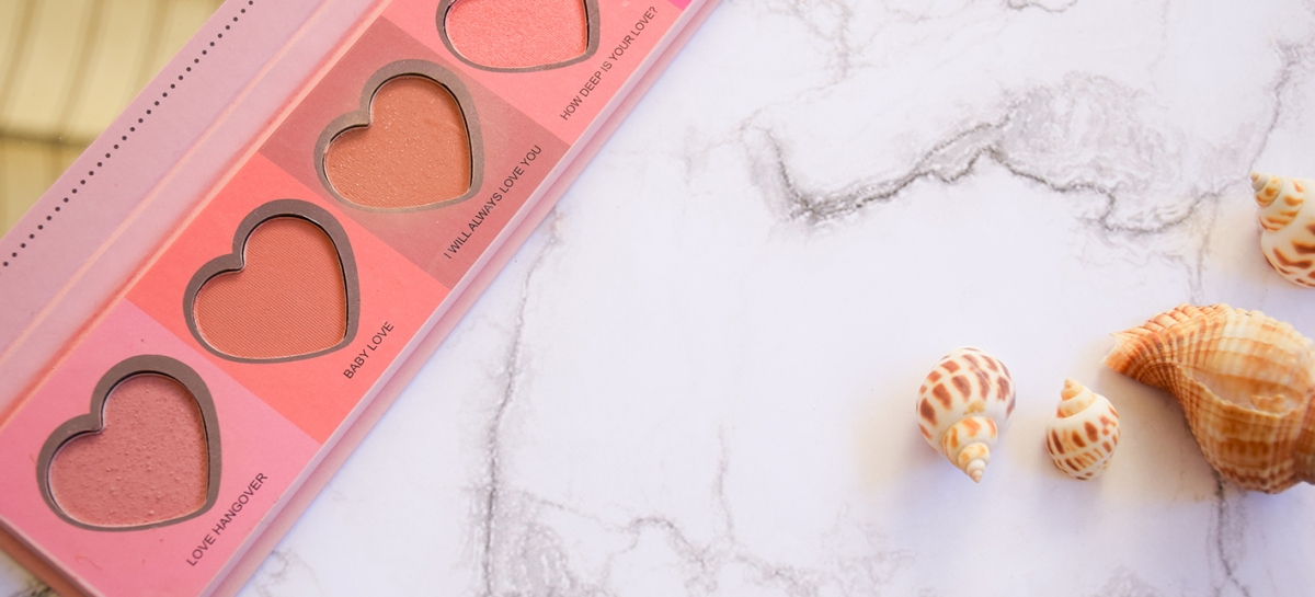 Love Flush Palette – IDC Color | Corazones con color pero, ¿clon de Too Faced?